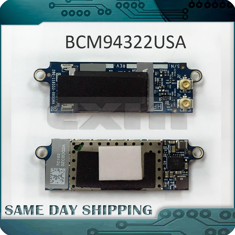 original for apple macbook 13 white unibody a1342 rear speaker 609 0268 a late 2009 mid 2010 year mc207 mc516 emc2350 emc2395 NEW Wifi Bluetooth Airport Wireless Card for Macbook Pro Unibody 13 15 17 A1278(2008-2010) A1286(2008-2009) A1297(2009)