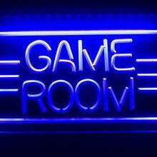 I338 игровая комната игрушки с дисплеями ТВ светодиодный неоновый светильник знак