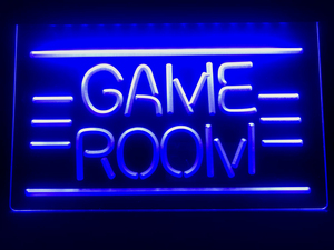 I338 GAME ROOM Displays Toys TV LED Neon Light Sign(China)