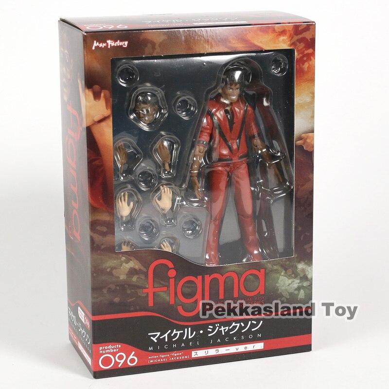 Figma 096 mj thriller coleção figura de ação modelo brinquedos