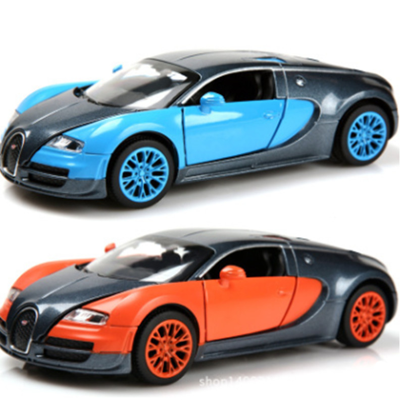 NEW MINI AUTO 1:32 Free Shipping Bugatti Veyron Alloy Car Models Kids Toys  For Children Metal Sound/Light/Pull Classical Cars  In Diecasts U0026 Toy  Vehicles ...