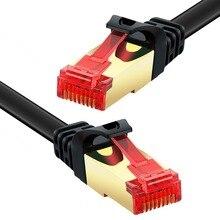 Cat6 кабель ethernet 250 мГц 1000 Мбит/с RJ45 Сетевое оборудование Ethernet Патч-корд сетевой кабель 50 см 10 м 15 м 30 м для компьютера маршрутизатора ноутбука