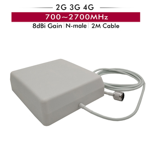 Image 4 - Gain 65dB Tri Band Repeater GSM 900+DCS/LTE 1800+WCDMA UMTS 2100 Mobile Signal Booster 2G 3G 4G Cellular Amplifier 20m Cable Set