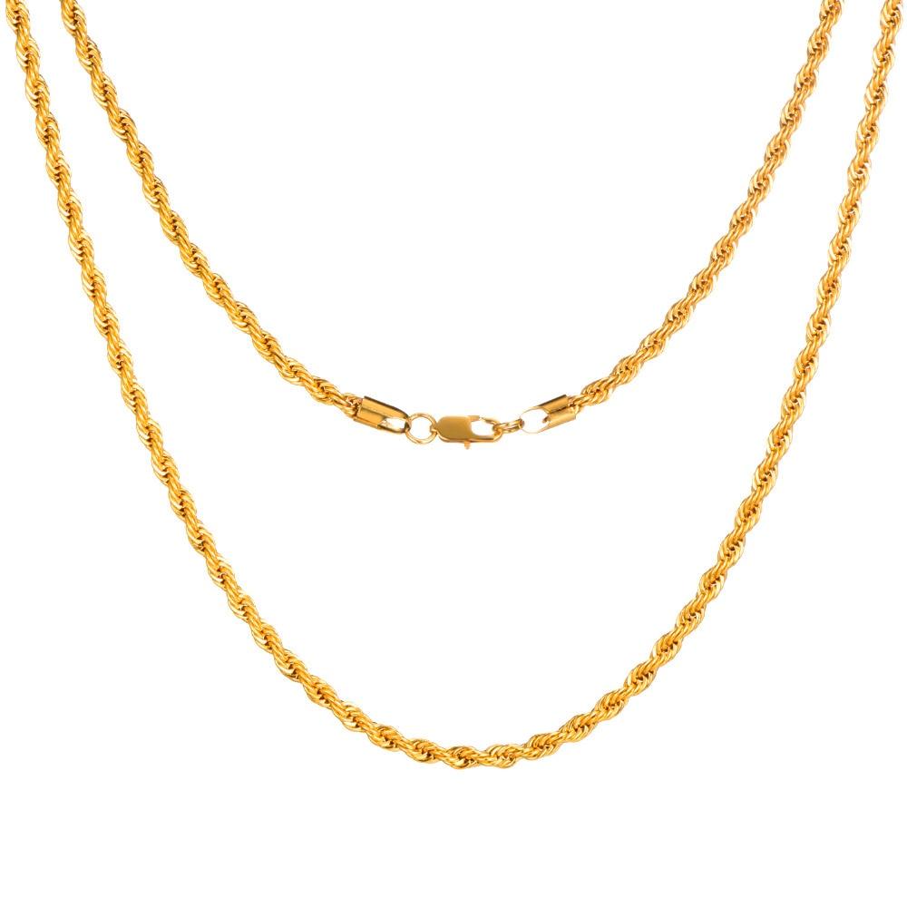 twist necklace f