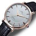 Часы Мужчины Luxury Brand Розовое Золото смотреть Мужчины Наручные Часы Моды Кварцевые часы Relogio мужской 2016 Бесплатная Доставка
