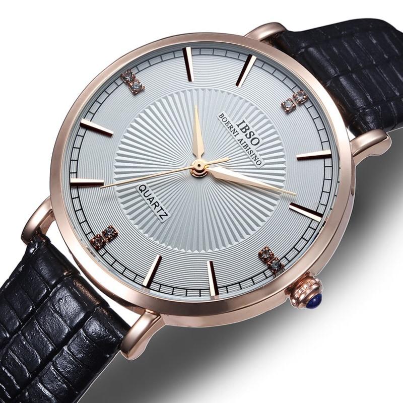 все цены на Watches Men Luxury Brand Rose Gold watch Men Wristwatches Fashion Quartz watch Relogio Masculino 2016 Free Shipping онлайн