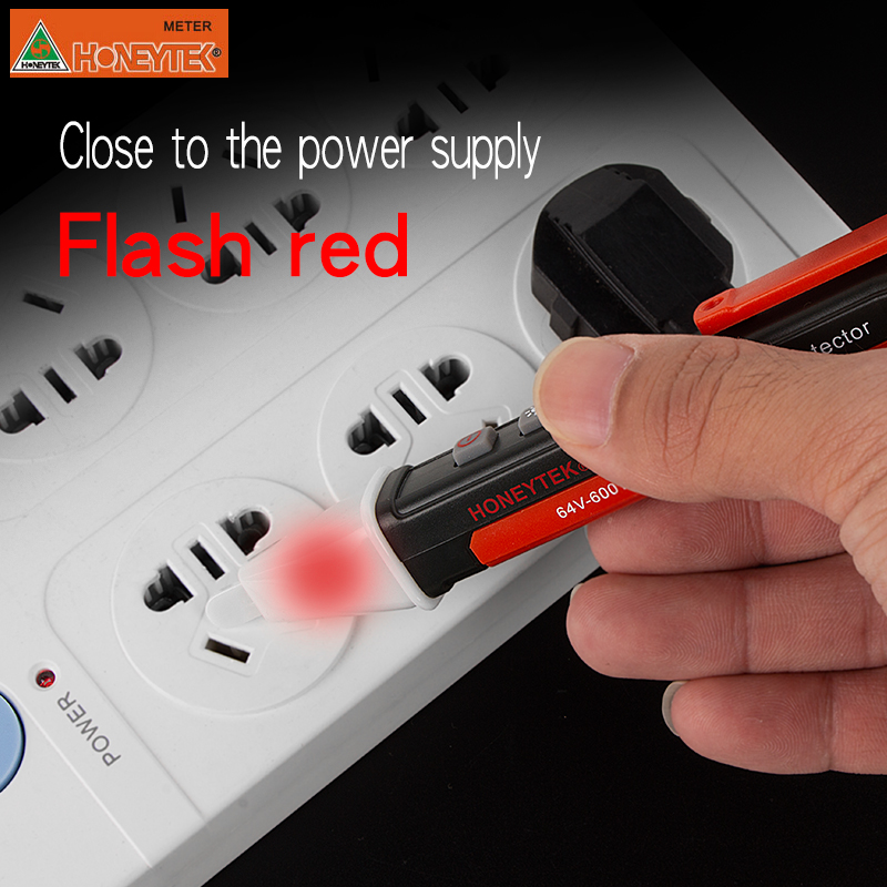 Professional Non Contact AC Voltage Detector in Pen Type useful for Electrician with Auto Power off Feature 10