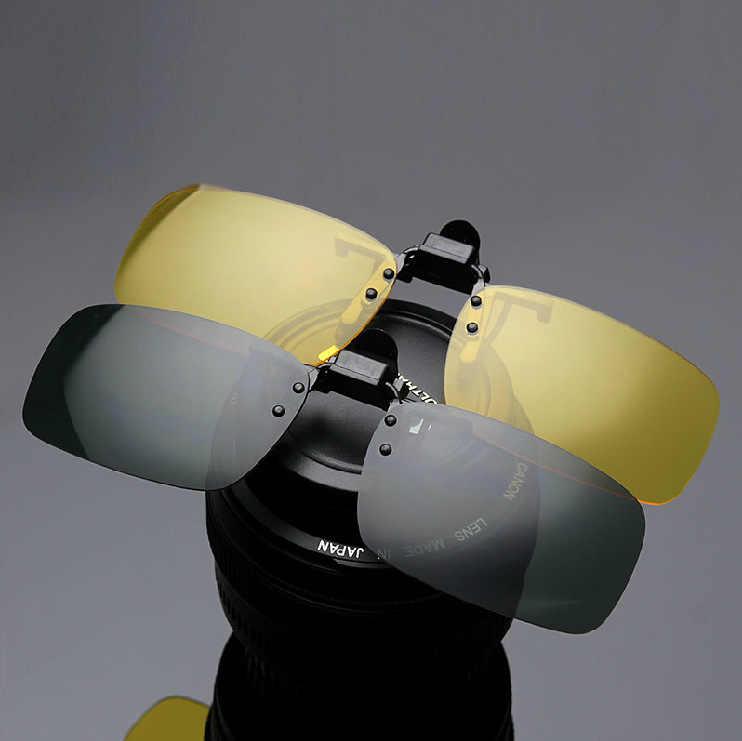 MOLNIYA Clip Trên Kính Lái Xe Tầm Nhìn Ban Đêm Ống Kính Kính Mặt Trời Nam Anti-UVB UVA Cho Nam Giới Phụ Nữ Kính Mát JP03
