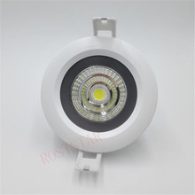 Free Shipping 15W 20W IP65 Waterproof COB LED Ceiling down Light round Recessed Led Downlight AC85-265V