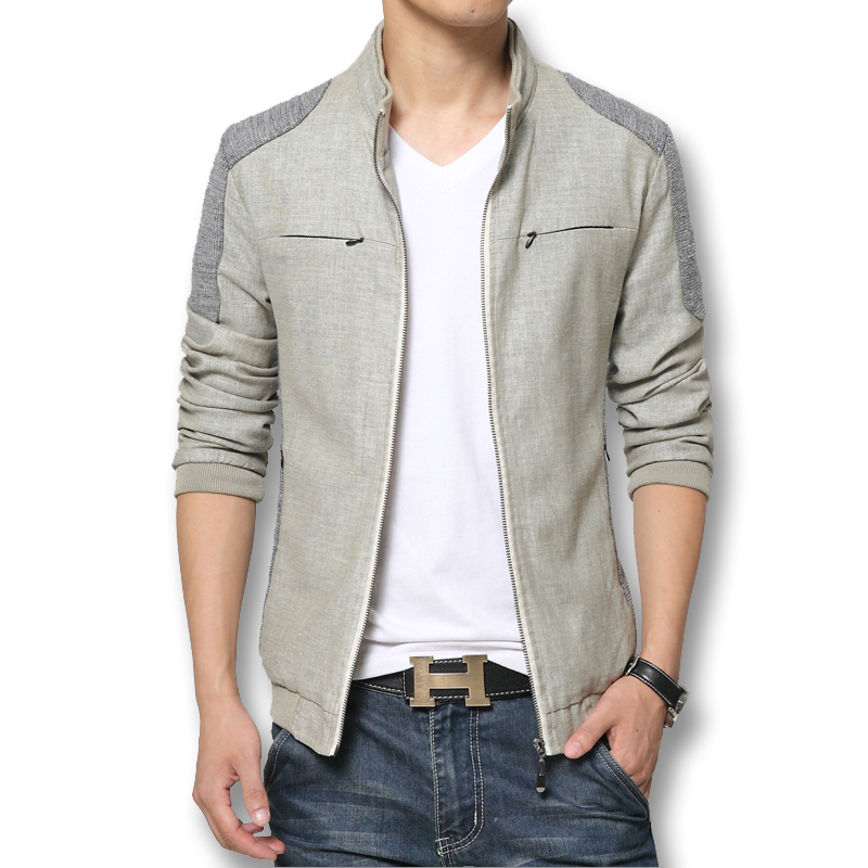 Hot Sale Men Jackets Fashion Brand Mens Jacket Pachwork Korean Slim Mens Designer Clothes Men