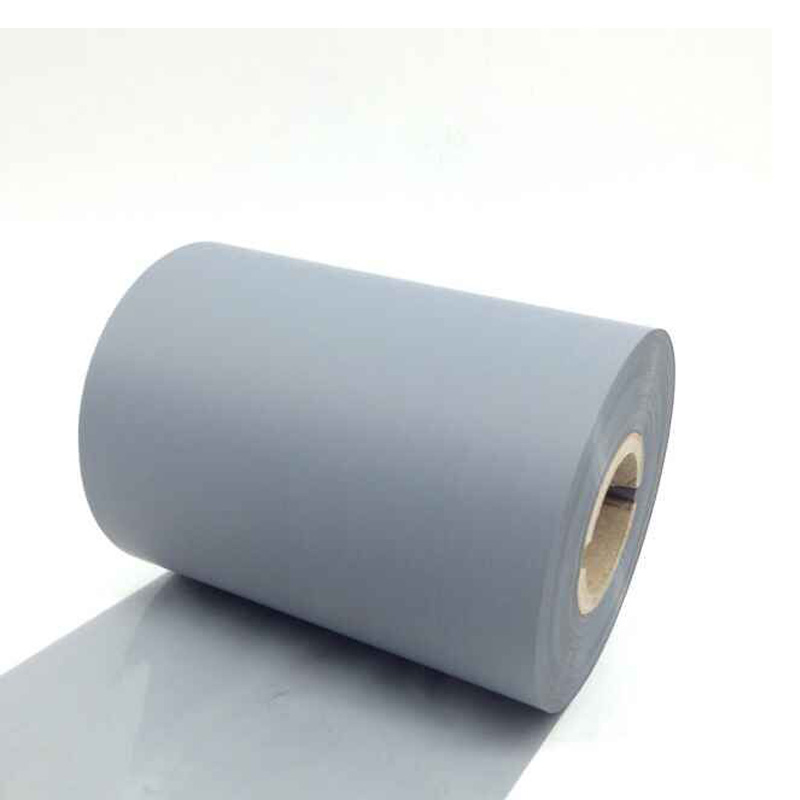Resin grey color ribbon 90mm 300M for printing mobile 5S 6 6plus 7 plus imei label