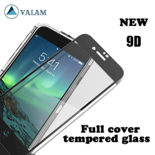 VALAM Tempered Glass For iPhone 7 8 Plus Screen Protective 9D Full Cover plus glass film