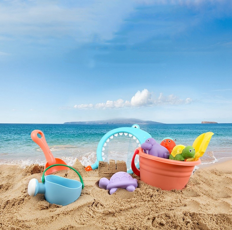 Toys & Hobbies Pools & Water Fun Official Website Beach Toy 6 Piece Set Children Play Sand Water Digging Tools Goods Of Every Description Are Available