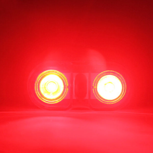 2 φώτα πίσω ποδηλάτου με ποδήλατο LED - Ποδηλασία - Φωτογραφία 5