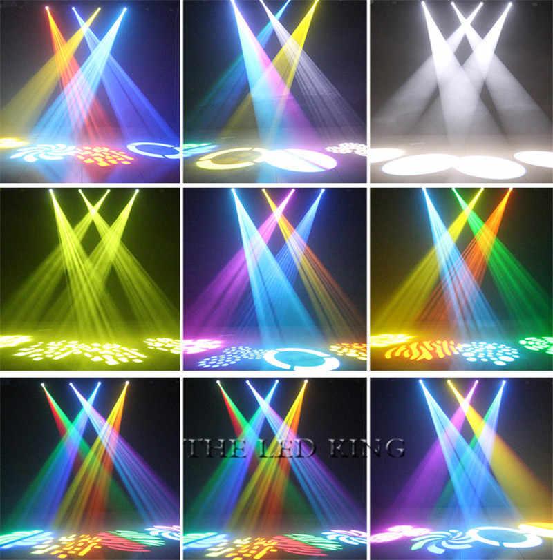 2019 New 60W LED Spot Lampu Moving Head Panjang Umur 11 Saluran DMX 900W Kecapi Gobo Lampu LED Moving kepala Panggung Disco Light