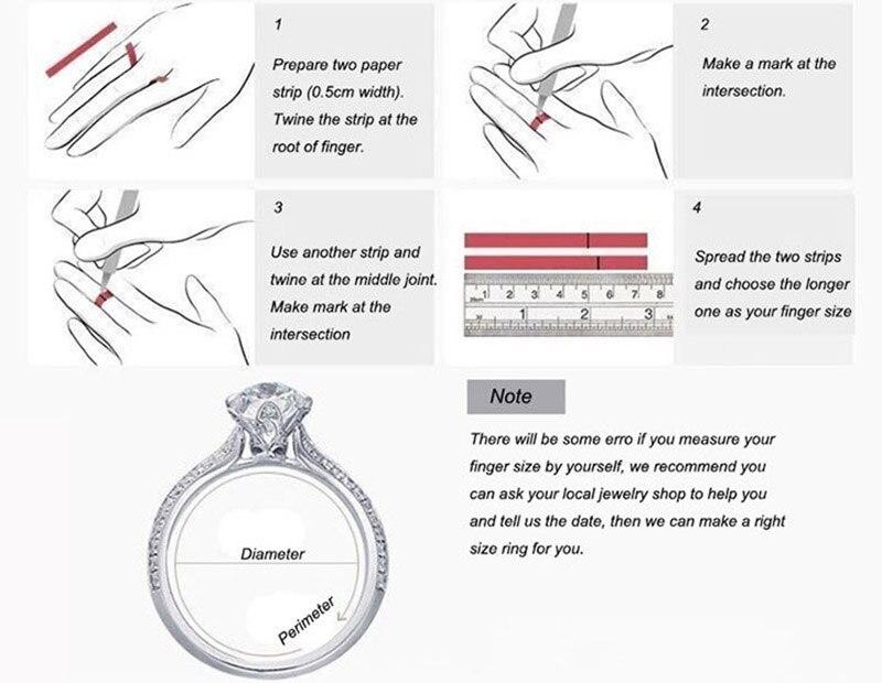 de escritório 0.3ct real vvs grau moissanite 925 prata anel de prata jóias