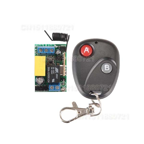 AC220V Mini Size Radio Remote Control Lighting Power ON OFF Switch System Learning Code Momentary Toggle Latched 3ch wireless remote control switch system ac 85v 250v 30a learning code toggle momentary led on off wireless switch sku 5498