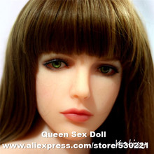 2016 NEW 51# Top quality sex doll lifelike head for japanese doll, real sexy dolls silicone head, oral sex products