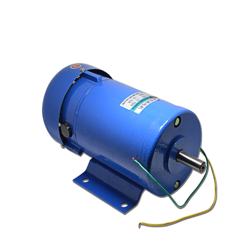 DC220V 750W 1800RPM permanent magnet motor power to high speed motor drive positive &negative mechanical products accessories 220v permanent magnet dc motor 1800 4500 rpm high speed motor 500w high power large torque motor