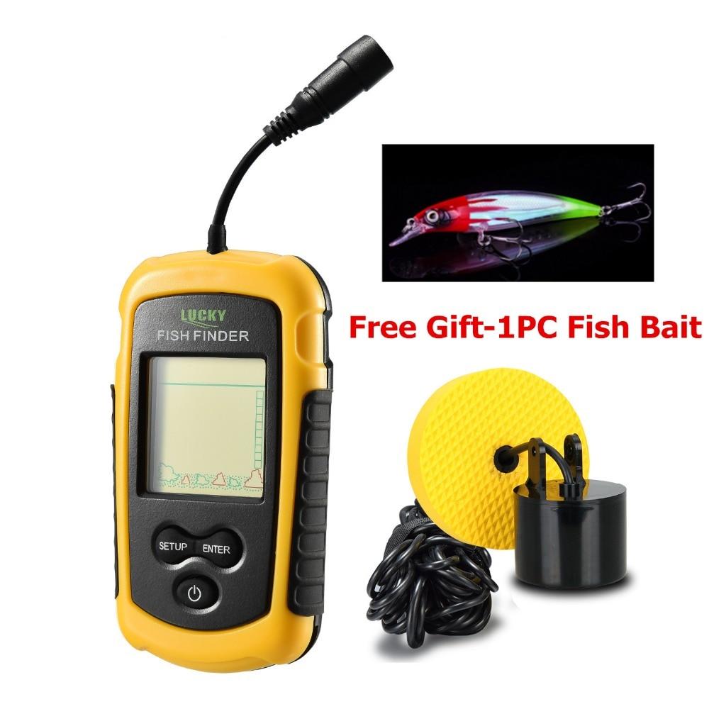 Aliexpress.com : Buy Lucky Fish Finders FFC1108 1 Alarm