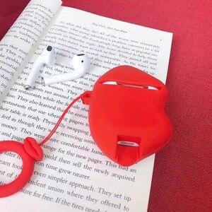 Image 5 - การ์ตูนน่ารักBulldogหูฟังชุดหูฟังอุปกรณ์เสริมTPU SoftสำหรับAirpodsไร้สาย1 2ชุดหูฟังบลูทูธกระเป๋า