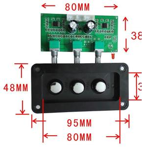 Image 2 - התאמת בס טרבל טון לוח NE5532 סטריאו HIIF למגבר דיגיטלי Loudsperker פעיל שליטה על עוצמת קול