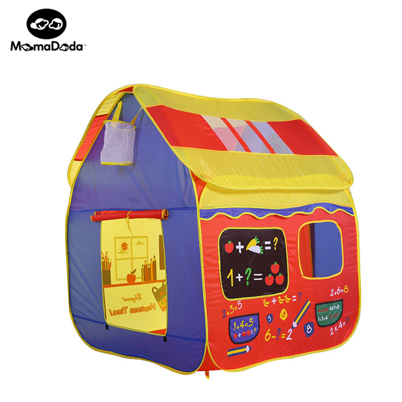 safety foldable play tent kids toy house tent for children indoor play yard baby playpens portable ocean ball pool game house glass girl