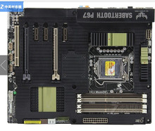 Оригинал материнская плата для asus sabertooth p67 lga 1155 ddr3 32 ГБ для i3 i5 i7 desktop motherborad p67 бесплатная доставка
