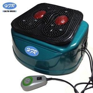 Image 5 - HealthForever מותג שלט רחוק רטט מכשיר רגליים מלא גוף חשמלי רגל זרימת דם עיסוי מכונה