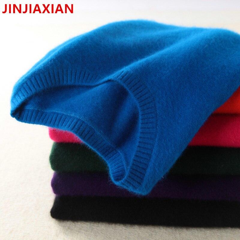 Hohe qualität kaschmir pullover, frauen pullover stricken top pullover winter starke herbst weibliche frauen übergroßen pullover