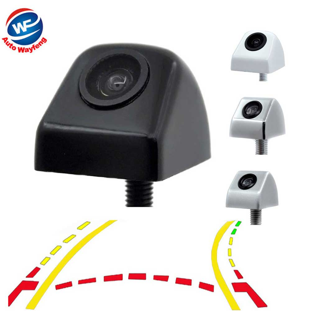 Car Intelligent Dynamic Trajectory Moving Guide Parking Line Rear View Reverse Backup Tracks Camera For Android DVD Monitor