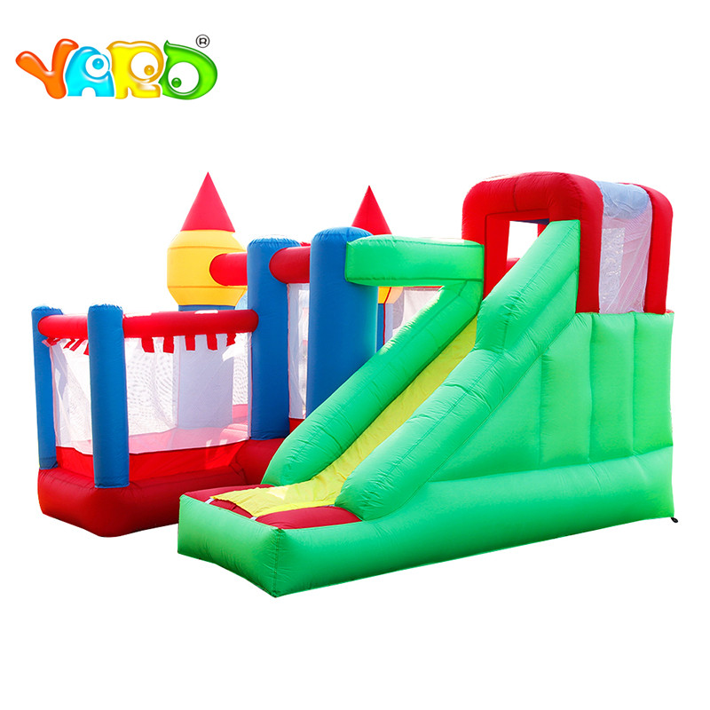 YARD Jumping Castle for kids inflatable castle Trampoline Bounce House Bouncy Castle outdoor kids play inflatable castle blower giant super dual slide combo bounce house bouncy castle nylon inflatable castle jumper bouncer for home used