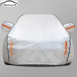 Auto abdeckung plus baumwolle padded winter auto abdeckung Vier jahreszeiten aluminium film hagel/wetter/sonne/schnee fit für Benz auto
