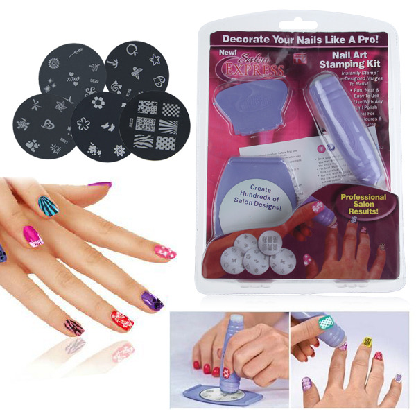 Professional Nail Art DIY Pattern Printing Manicure Machine Stamp Stamper Tool Set Tools In Multi Use Top Base Coat From Beauty Health On