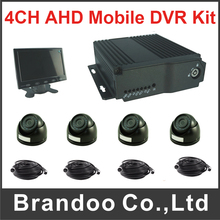 4 Channel HD Mobile DVR Kit for Bus Truck Train Taxi Large Vehicle Support 1080P abd 1080N