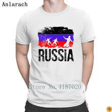18a2aaa0b12 Russian Soccers Player Long Sleeve T-Shirts Fun HipHop Tops 2018 T Shirt  For Men