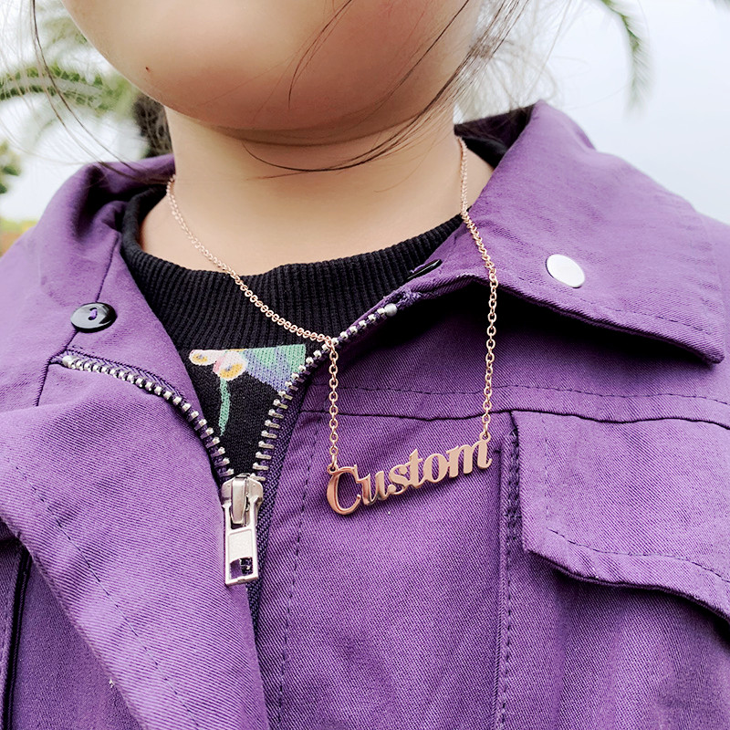 custom necklace for baby