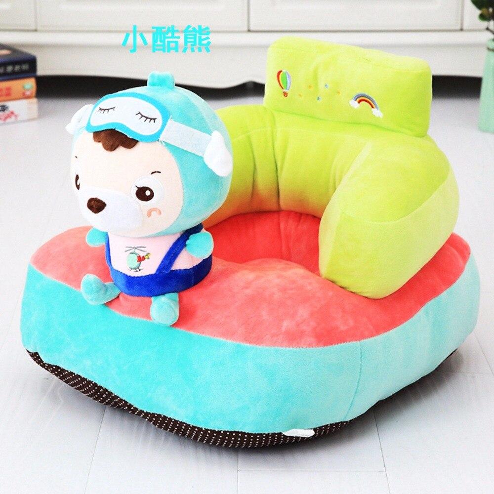 Tapis de jeu bébé peluche licorne chaise pour bébé apprendre s'asseoir bébé chaise tapis Moose jouer tapis de jeu canapé enfants cadeau - 5