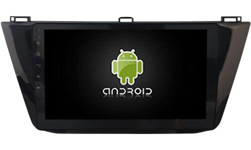 DSP android 8.1.2 gps navigation pour 2017 Tiguan 10.1