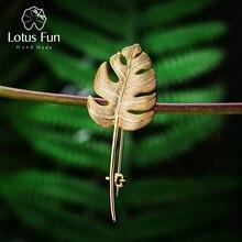 Lotus Fun Real 925 Sterling Silver Handmade Designer Fine Je