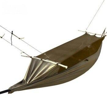 Tenda Barracas De Camping Tactical Tent, Multi-function Portable Off-site Anti-mosquito Wear-resistant Tear-proof Tent Hammock