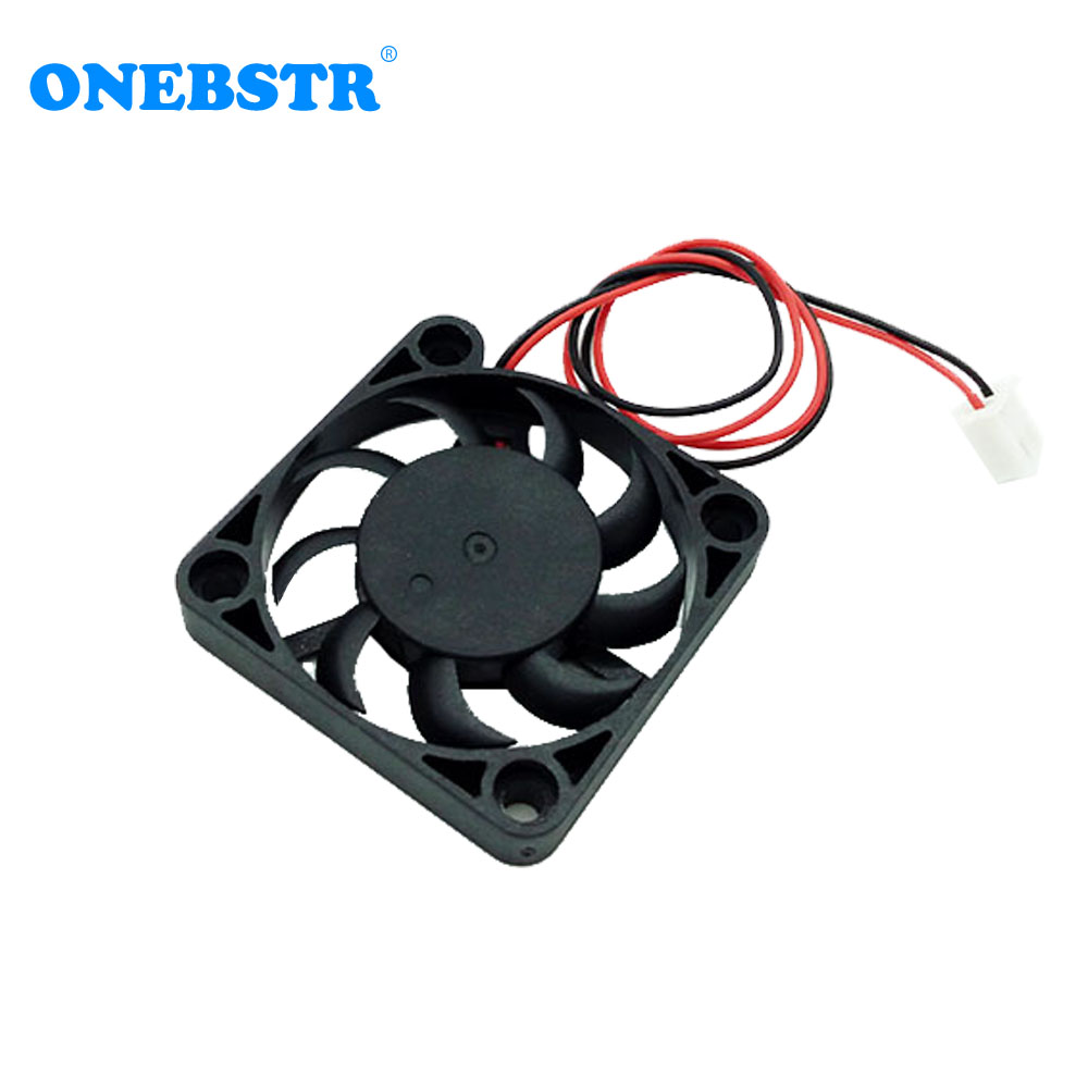 4007 Brushless Ultra-thin Fan DC 5V 4cm 40mm 40X40X7mm Small Power Supply Cooling Fan XH2.54-2Pin Length 200mm Free Shipping
