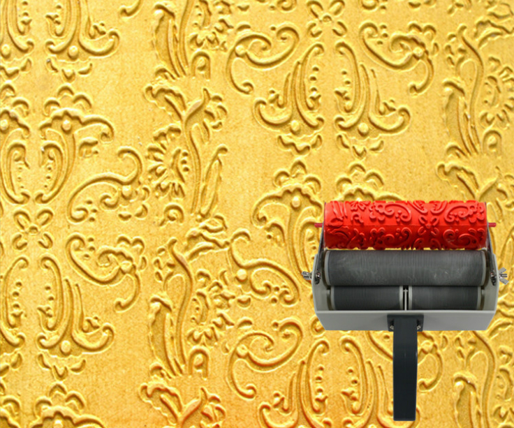 Art Print Roller Liquid Wallpaper 7 Inch Texture Roller For Home Decoration No . 001