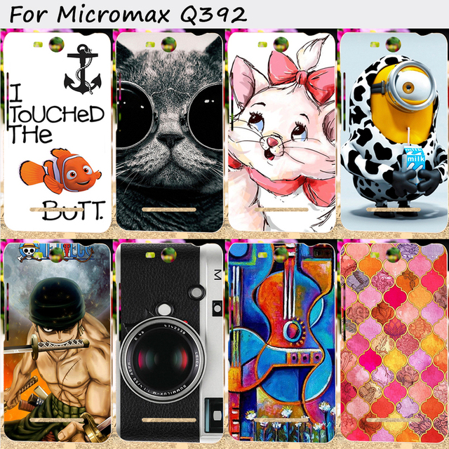 TAOYUNXI TPU Mobile PhoneCover For Micromax Q392 Canvas Power 2 Canvas Juice 3 Case Cover With a Camera Cell Phone Bag Housings