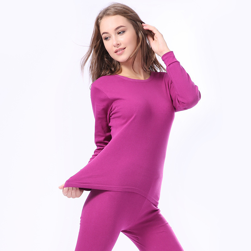 Oversize Couple Keep Warm Pajamas Set Breathable Long Johns Tops Bottom Clothes Lovers Body-Shaping Thermal Thicken Underwear