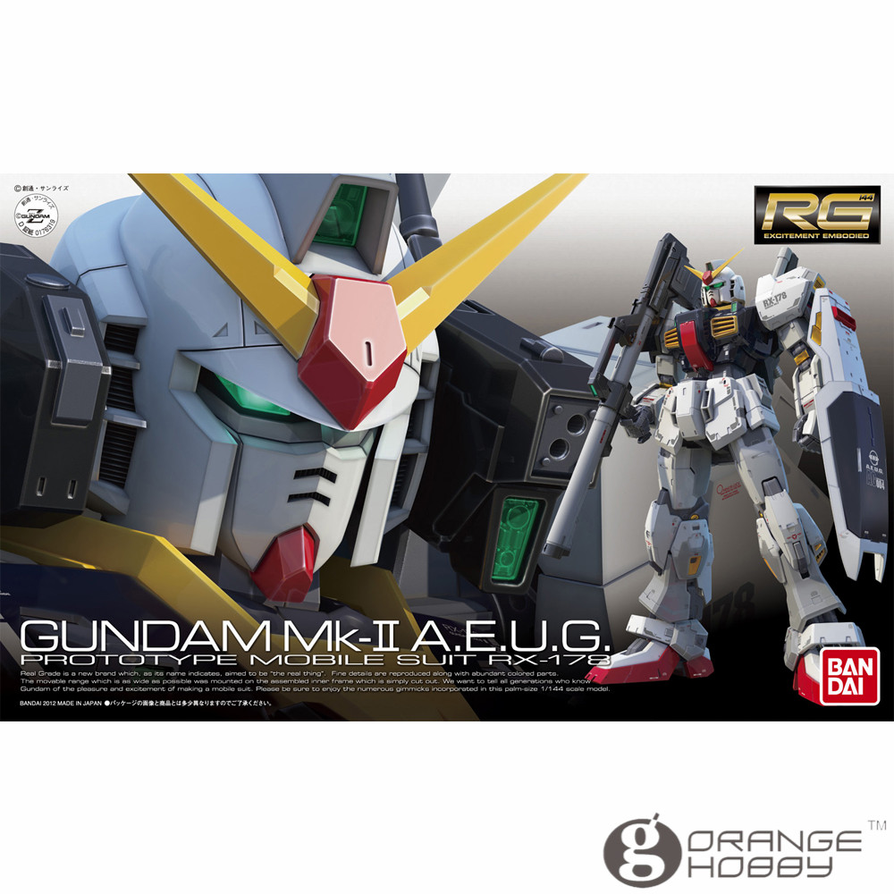 OHS Bandai RG 08 1/144 RX-178 GUNDAM Mk-II A.E.U.G. Mobile Suit Assembly Model Kits oh ohs bandai mg 155 1 100 rx 0 unicorn gundam 02 banshee mobile suit assembly model kits oh