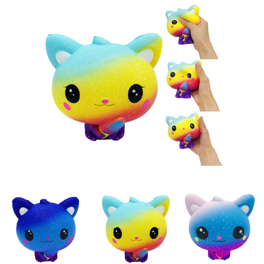 Gags & Practical Jokes Back To Search Resultstoys & Hobbies Beautiful Squeeze Toys Anti Stress In Gags Toys Pu Jumbo Galaxy Fire Balloon Scented Squishy Charm Slow Rising Stress Reliever Toy #35