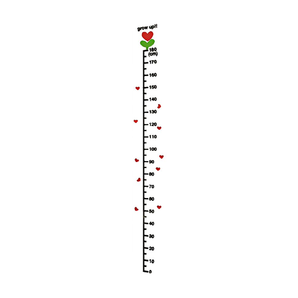 Ich Cm Children's Roll-up Growth Height Chart Plain Cm Inch Measure Me Big White One Height Charts Home & Garden Worldenergy.ae