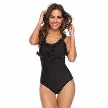 купить Women Cute Girl Set Push Up Swimsuit Bathing Suits Swim Halter Bikini Set padded bra Bandage Swimwear Top Mujer по цене 917.35 рублей