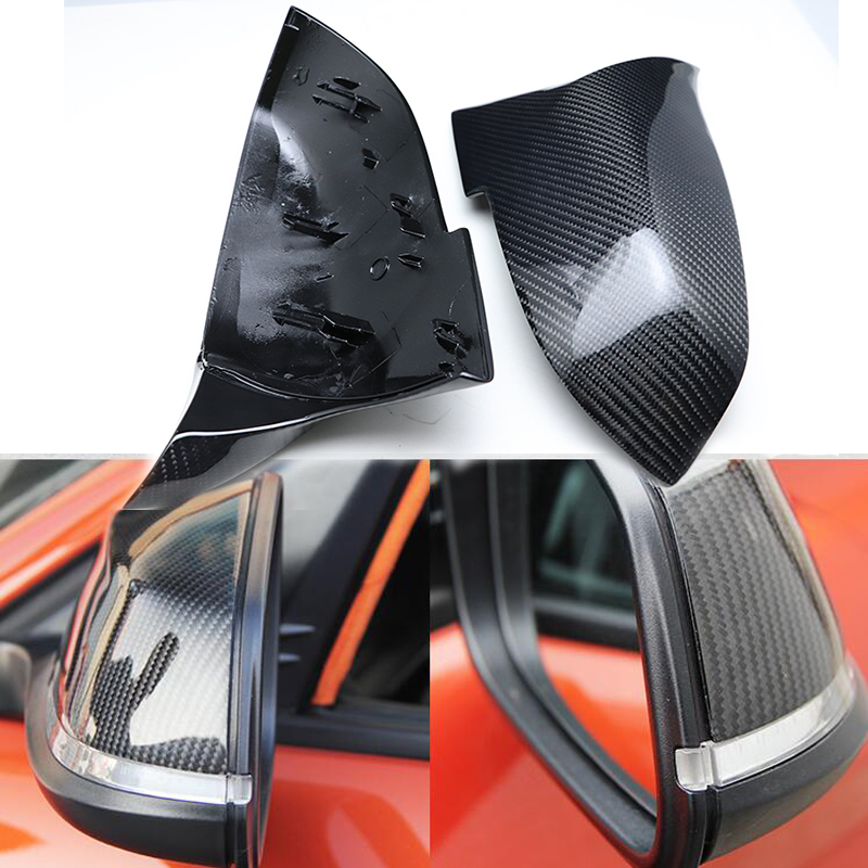 Top Quality Replacement Carbon Fiber M3 M4 Look Rear View Mirror Cover Caps for BMW X
